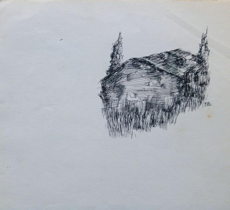 Dream House, 21x24 cm - Image 0