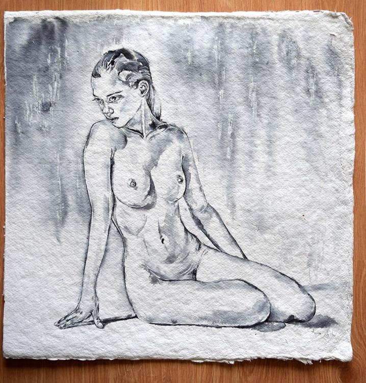 Nue / Nude / 56 cm x 56 cm - Image 0