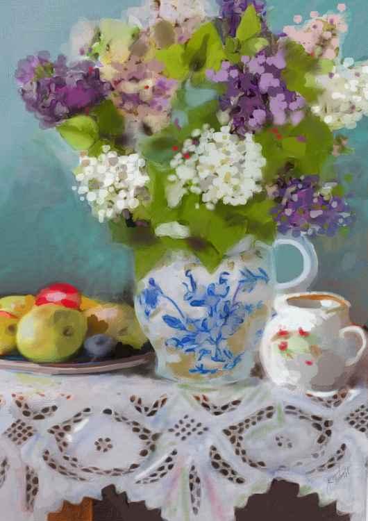 Sweet May Lilacs -