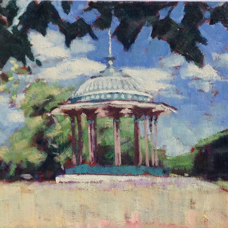Clapham Common bandstand - Image 0