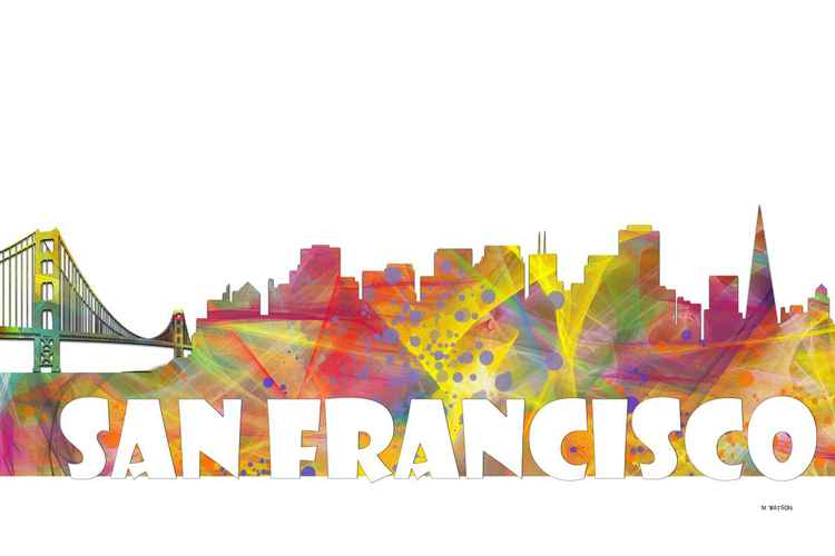 San Francisco Skyline MCLR2 -