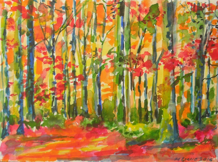 Red forest - Image 0