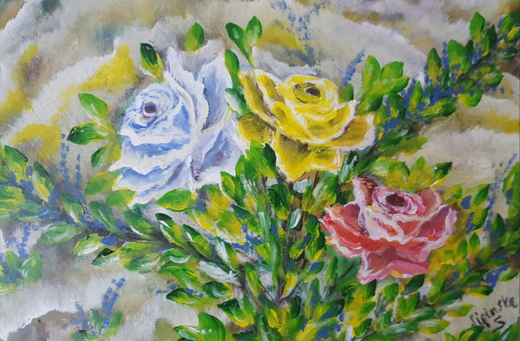 Three roses;) - Image 0