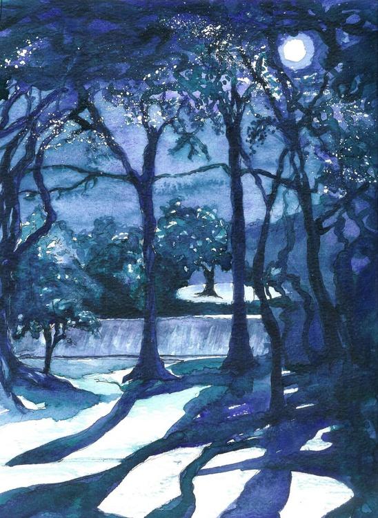 Moonlit Trees - Image 0