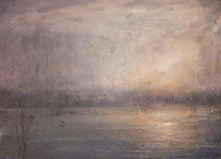 Danube .... impression of morning -