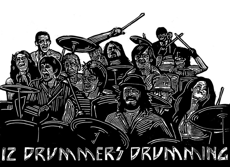 12 Drummers Drumming - Image 0