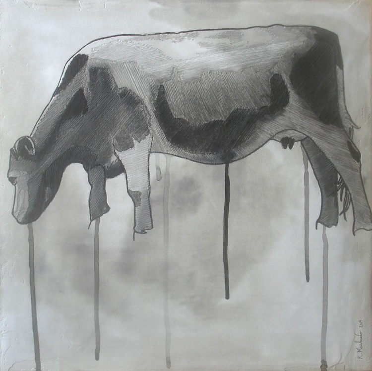 Cow Carved XXI - Image 0