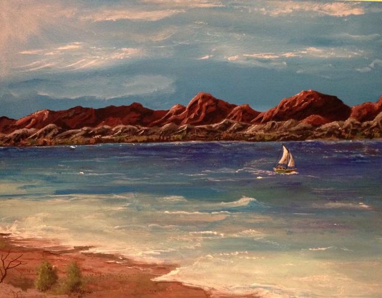 Wind on Lake Havasu, Arizona - Image 0