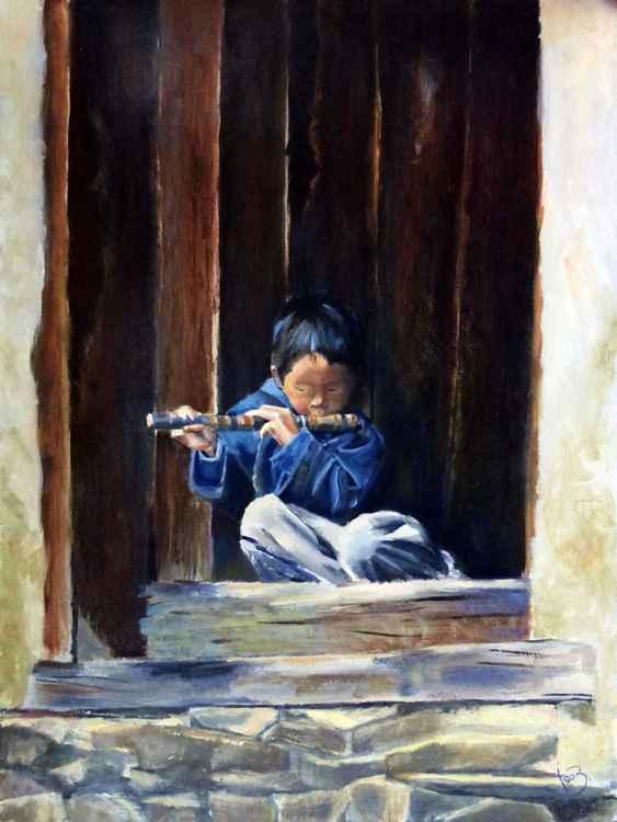 Small flutist