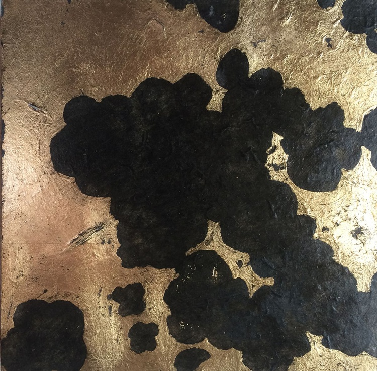 Blossom study in black and gold (III) - Image 0