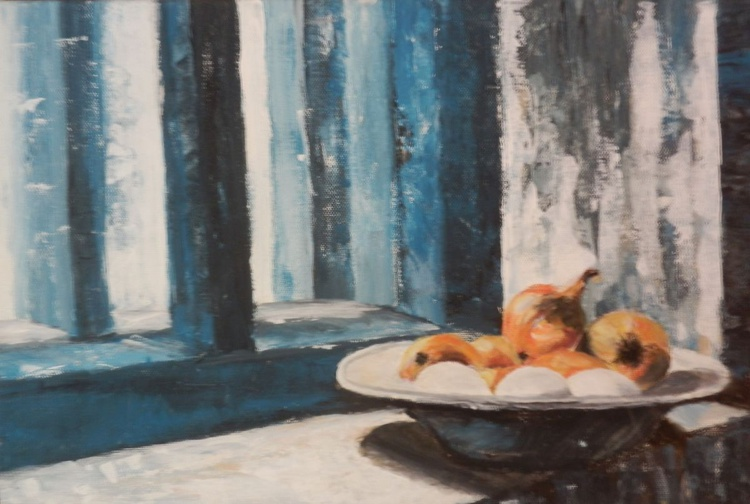 Still life with onions - Image 0