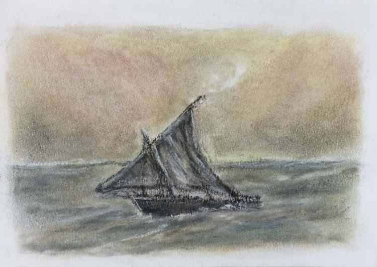 Sailboat No 4 -