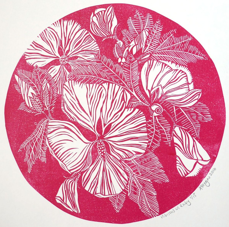Hibiscus in Ruby - Image 0