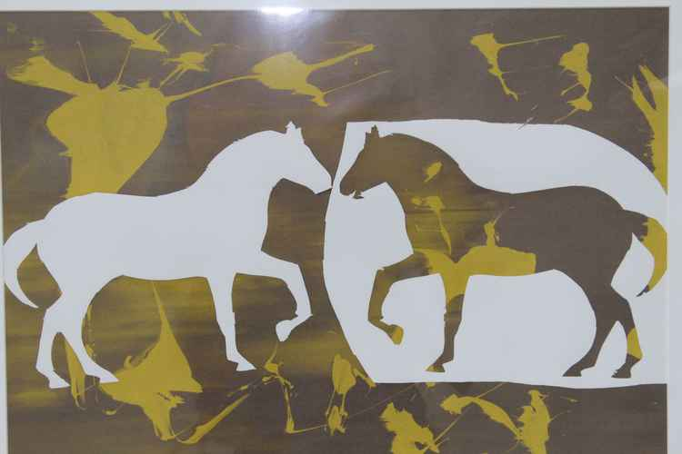 Autumn Horses -