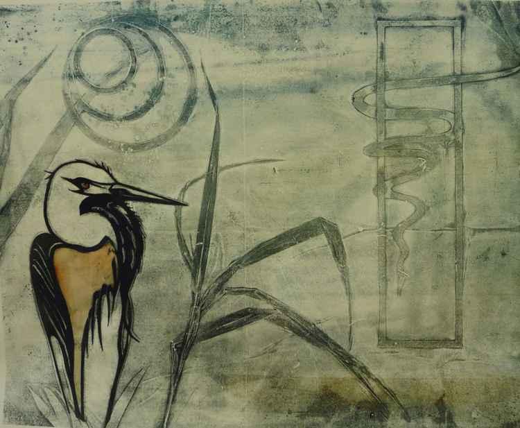 the heron -