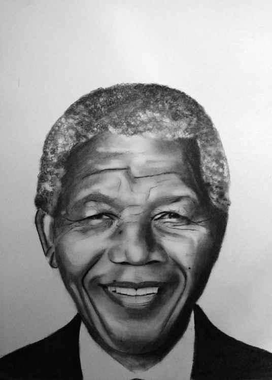 Nelson Mandela portrait -