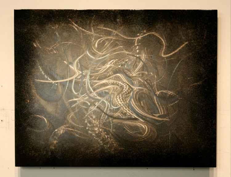 'Vitality' Modern Metal Artwork By Nicholas Yust -