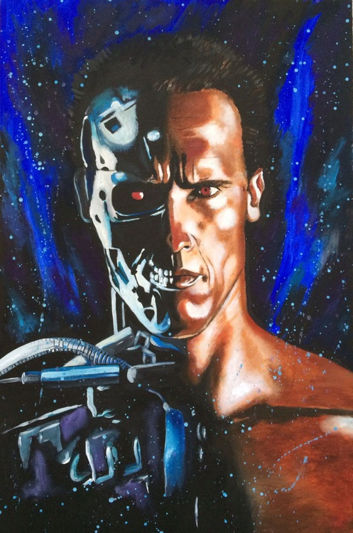 The Terminator - Half Man Half Machine - Image 0