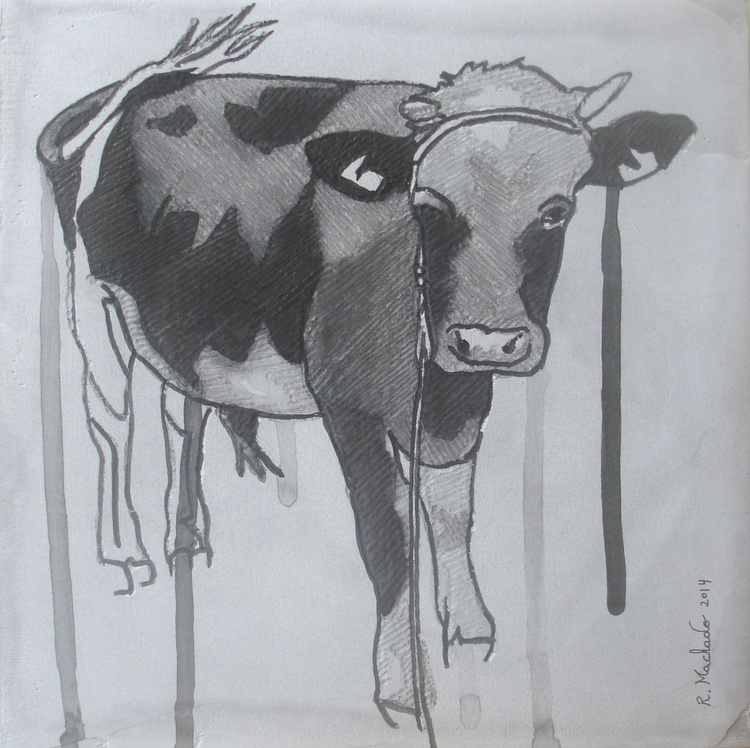 Cow Carved XIII - Image 0