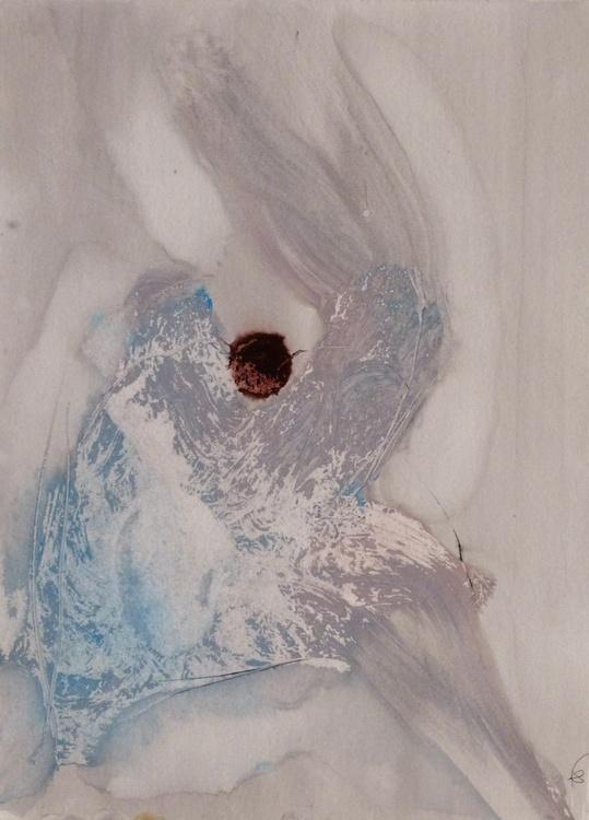 Prolegomena, Acrylic on paper #47, 29x42 cm - Image 0