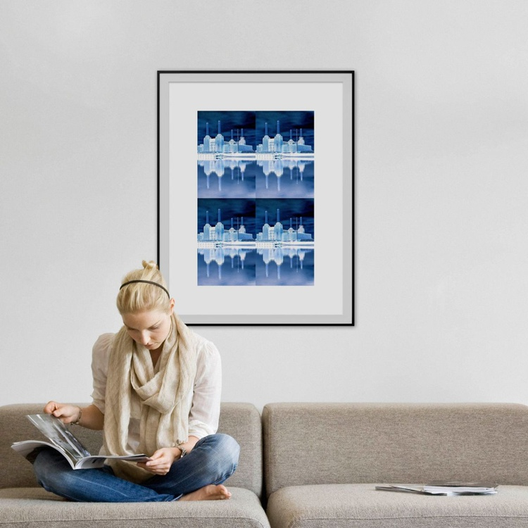 BATTERSEA BLUE X4 Limited edition  1/10 30in x 20in - Image 0