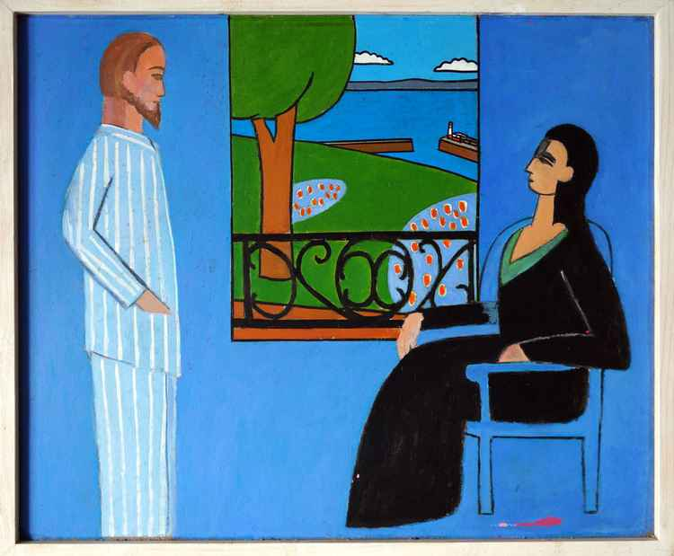 Matisse in Cornwall - The Conversation, Newlyn. -