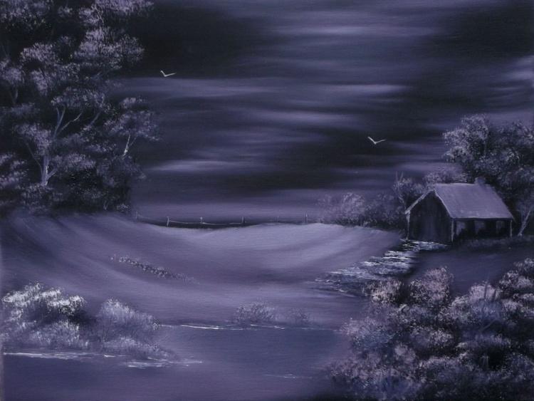 Purple Winter Shroud. - Image 0