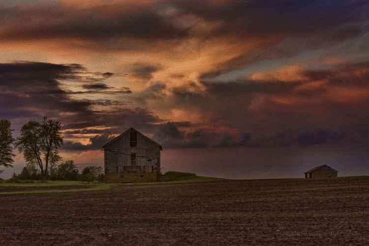 Prairie Dusk Awakening -