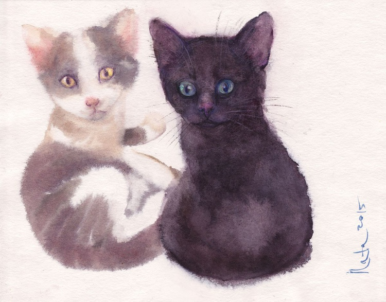 Two Kittens - Image 0