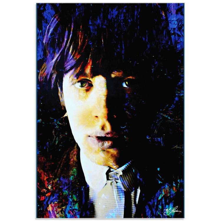 Mark Lewis 'Mic Jagger Poetic Secrets' Limited Edition Pop Art Print on Acrylic - Image 0
