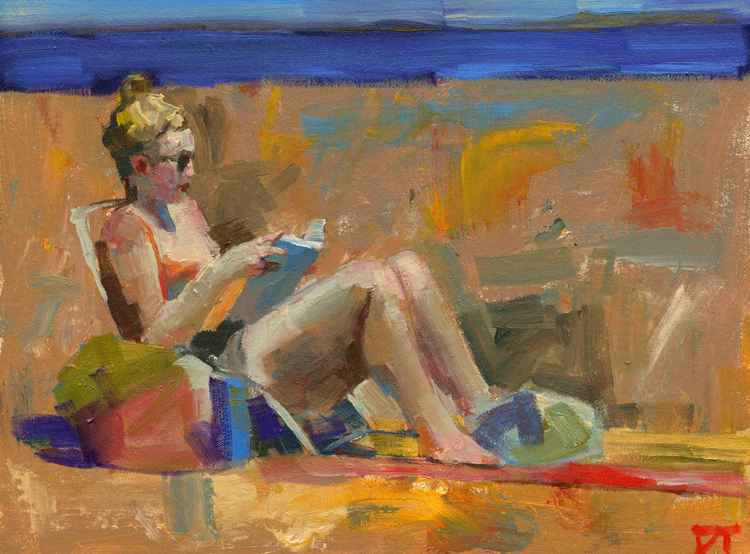 Figure on Beach -