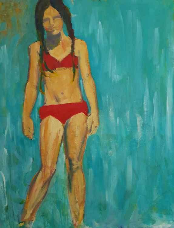 Red Bikini -