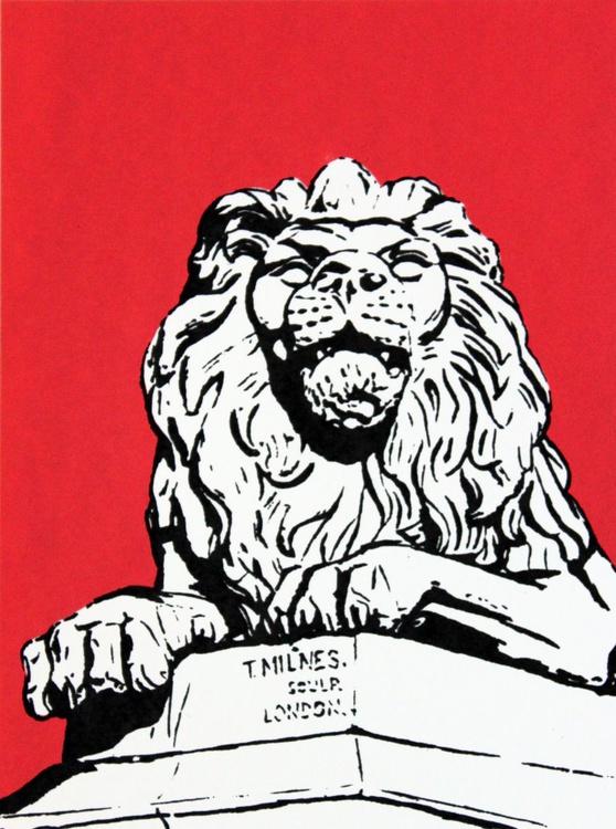 War, Saltaire Lion - Image 0