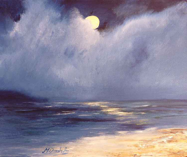 Moonlit Shore -