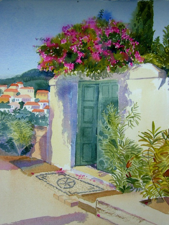 Greek Doorway - Image 0