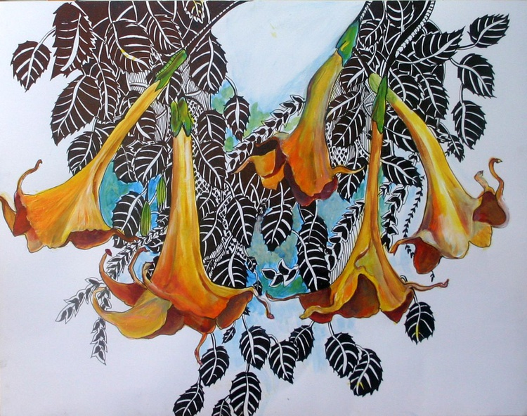 Hanging Flowers - Image 0