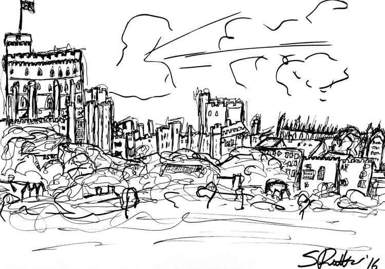 Windsor Castle Sketch -