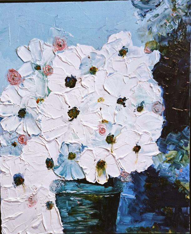 Waxy White Flowers 3 - Image 0