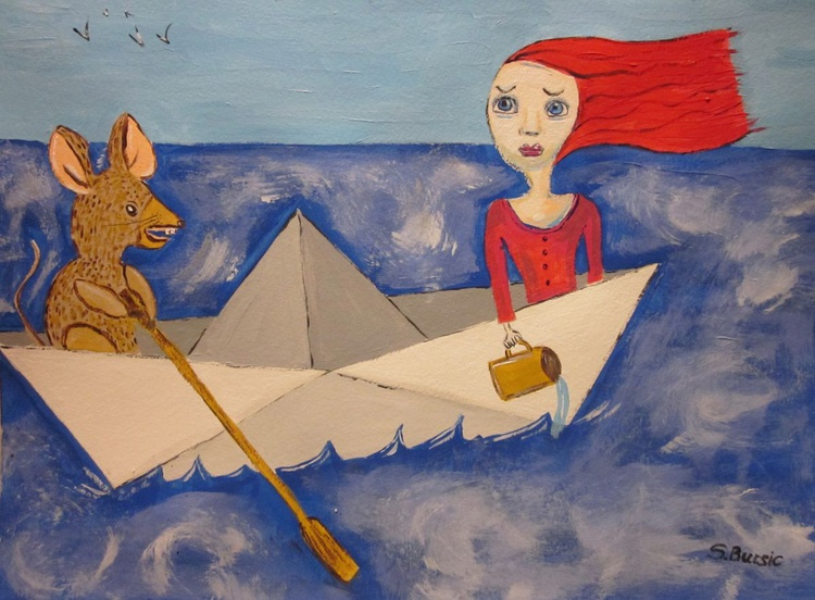 Never Trust a Rat in a Paper Boat - Image 0