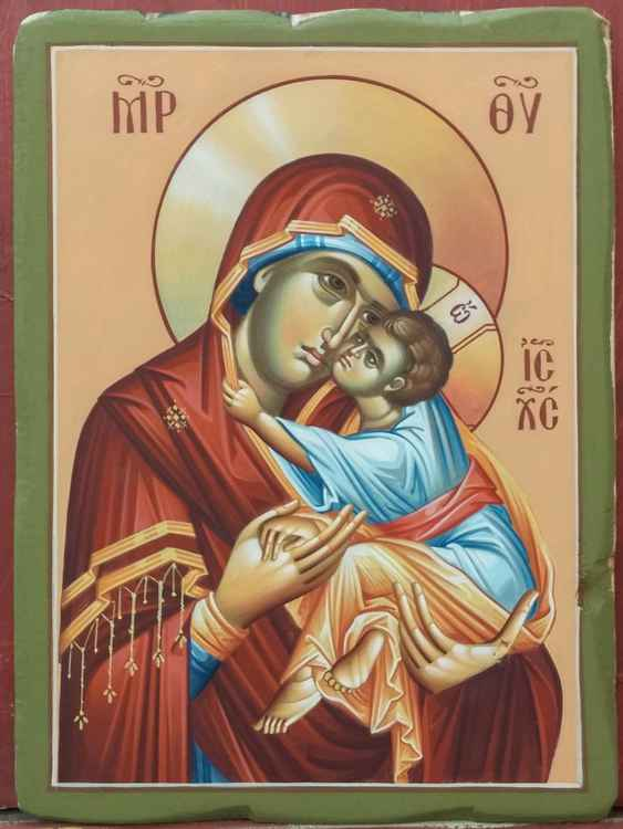 Mary and baby Jesus -