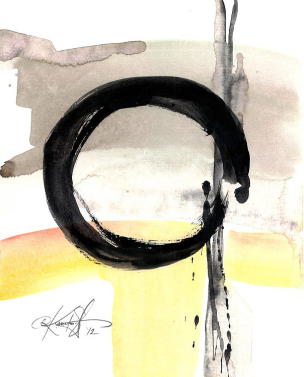 Enso Abstraction Series . No.104 - Image 0