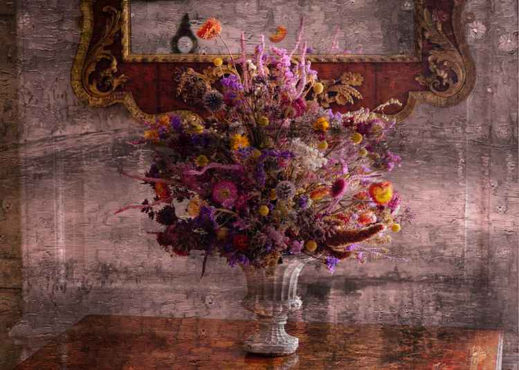 Ornate Flowers (Canvas)