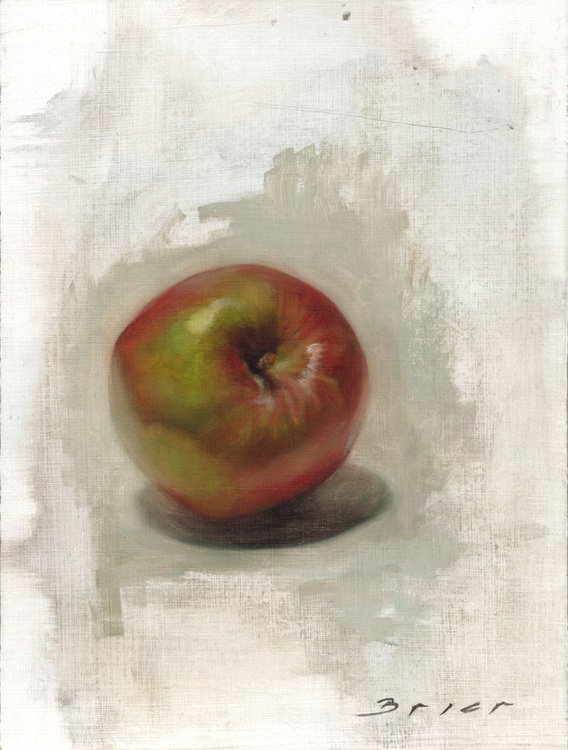 Red and Green Apple Study No. 2 - Image 0