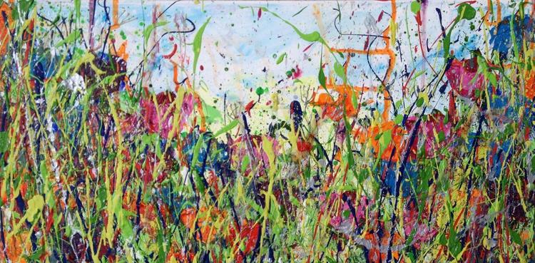 Flower Meadow 60x30x2cm - Image 0