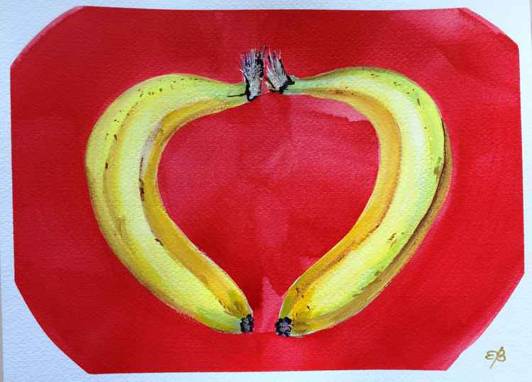 I go bananas over you! -