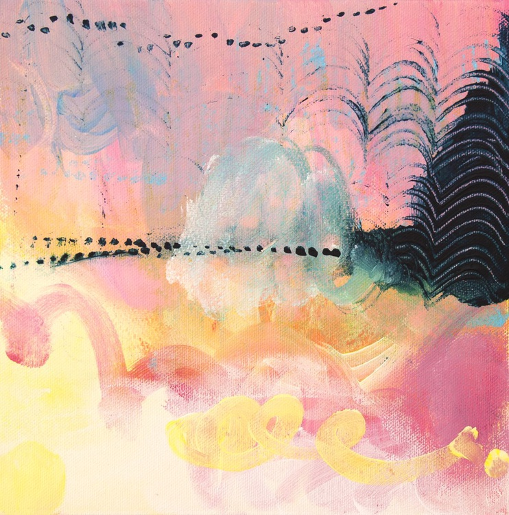 Mini abstract landscape III - Image 0