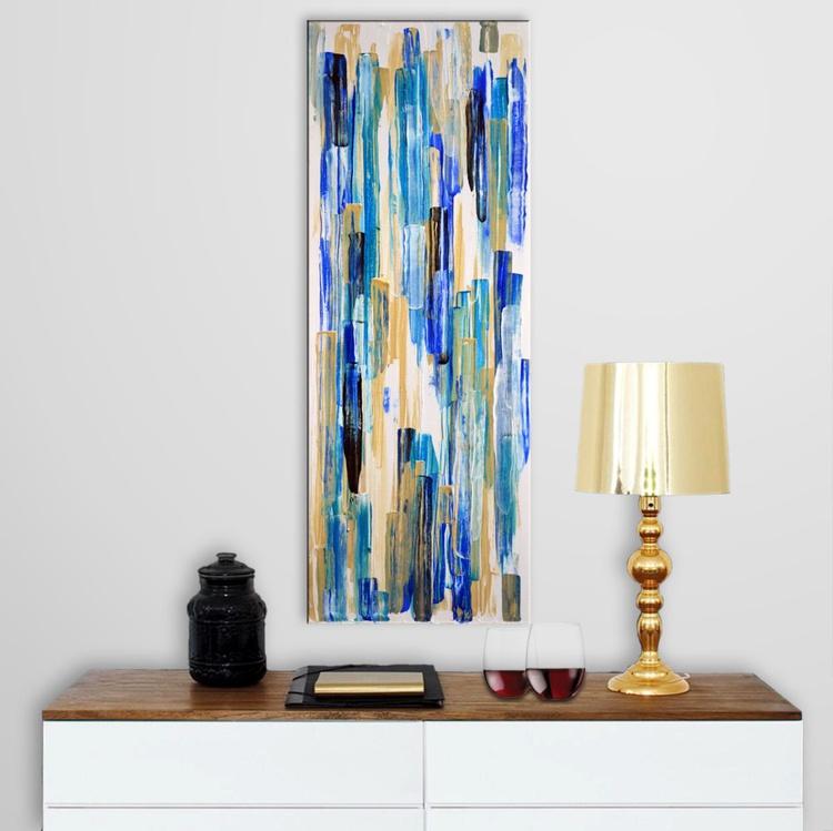 Abstract Home Decor 072 - Long Deep Edge Canvas Ready To Hang - Image 0