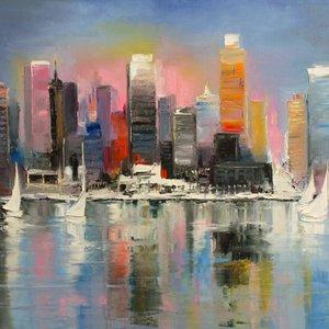City coast by Svetlana Tikhonova