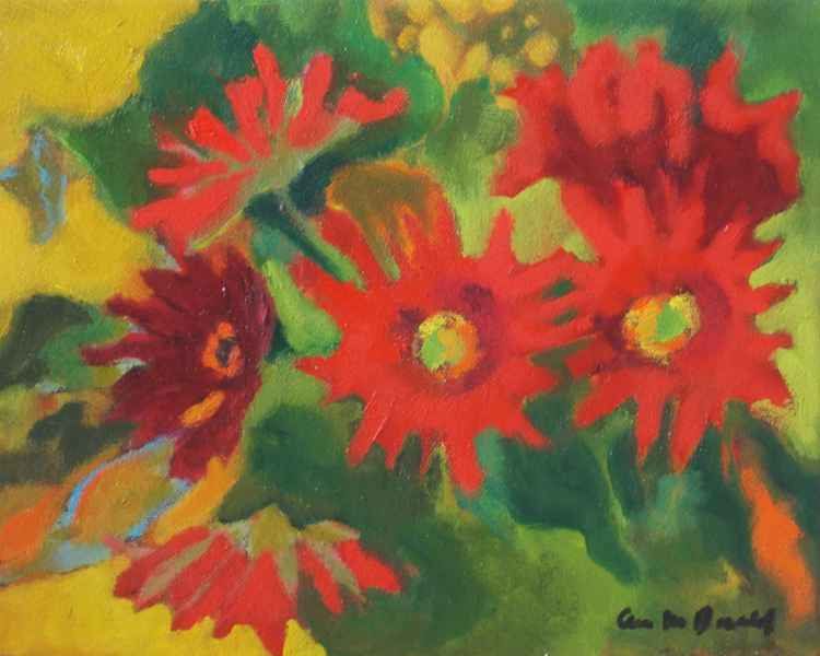 Red Daisies #2