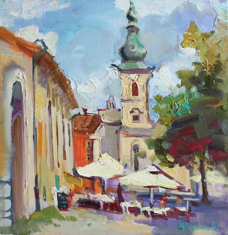 Sunny Cluj-Napoka. Romania -